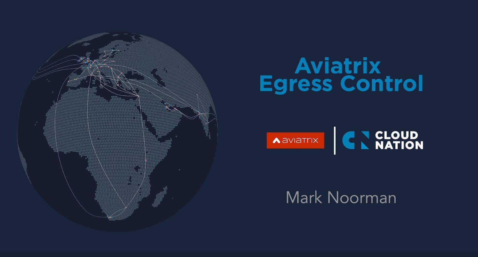 Aviatrix Egress Control